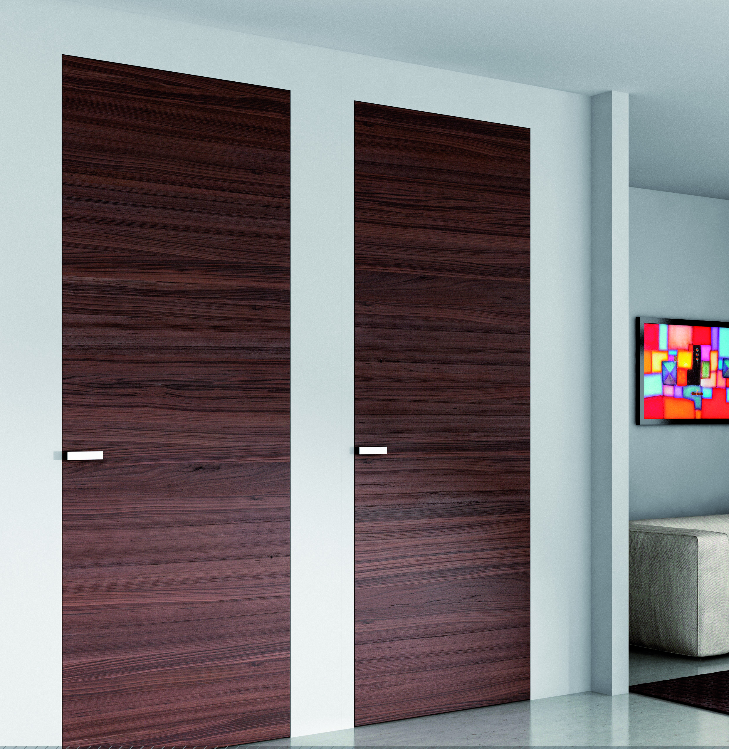 Porte int rieure authentique contemporaines standard ou Porte interieure sur mesure